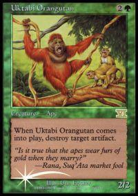 Magic the Gathering Arena Promo Card Uktabi Orangutan [Arena 2000]