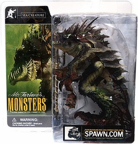 McFarlane Monsters Series 1 Action Figure Sea Creature [Blood Splattered Package Variant]