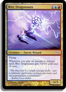 Magic the Gathering Arena Promo Card Wee Dragonauts [Arena 2006]