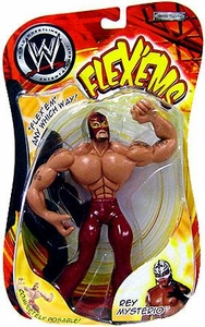 WWE Wrestling Action Figure Flex'ems Series 9 Rey Mysterio