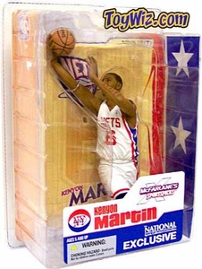 McFarlane Toys NBA Sports Picks Exclusive Action Figure Kenyon Martin (New Jersey Nets) [Retro NY Nets Jersey]