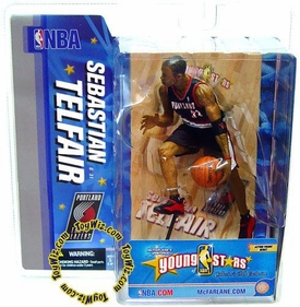 McFarlane Toys NBA Sports Picks Young Stars Exclusive Action Figure Sebastian Telfair (Portland Trail Blazers)