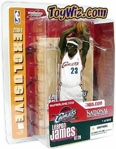 McFarlane Toys NBA Sports Picks 2004 National Exclusive Action Figure LeBron James (Cleveland Cavaliers)