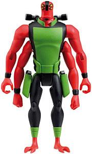 Ben 10 LOOSE 4 Inch Action Figure Manny