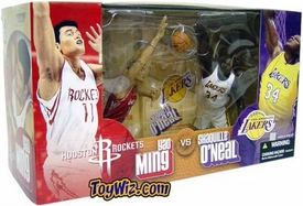 McFarlane Toys NBA Sports Picks Action Figure 2-Pack Yao Ming (Houston Rockets) & Shaquille O'Neal (Los Angeles Lakers)