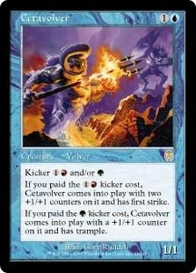 Magic the Gathering Apocalypse Single Card Rare #21 Cetavolver