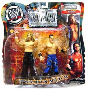 WWE Wrestling Action Figure 2-Pack Iron Man Match Chris Benoit Vs. HHH BLOWOUT SALE!