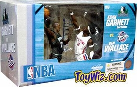McFarlane Toys NBA Sports Picks Action Figure 2-Pack Kevin Garnett & Ben Wallace