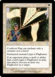 Magic the Gathering Apocalypse Single Card Uncommon #2 Coalition Flag