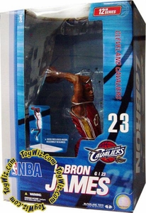 McFarlane Toys NBA Sports Picks 12 Inch Deluxe Action Figure LeBron James (Cleveland Cavaliers)