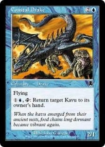 Magic the Gathering Apocalypse Single Card Common #22 Coastal Drake
