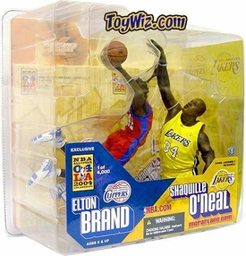 McFarlane Toys NBA Sports Picks All-Star Game Exclusive Action Figure 2-Pack Elton Brand & Shaquille O'neal
