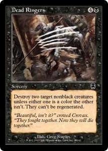 Magic the Gathering Apocalypse Single Card Common #37 Dead Ringers