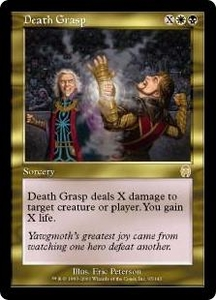 Magic the Gathering Apocalypse Single Card Rare #95 Death Grasp