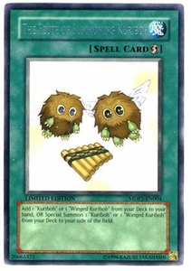 YuGiOh McDonald's Limited Edition 2 Promo Single Card Rare MDP2-EN004 The Flute of Summoning Kuriboh