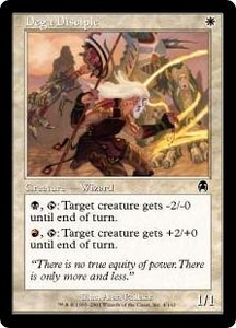 Magic the Gathering Apocalypse Single Card Common #4 Dega Disciple