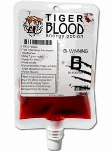 Energy Drink Charlie Sheen Tiger Blood Energy Potion