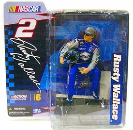 McFarlane Toys NASCAR Series 6 Action Figure Rusty Wallace