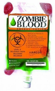 Energy Drink Zombie Blood Energy Potion