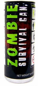 Energy Drink Zombie Survival Can