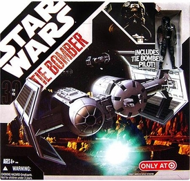 Star Wars 30th Anniversary Saga 2007 Exclusive TIE Bomber