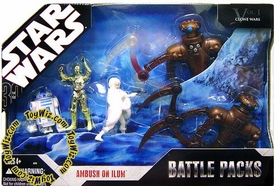 Star Wars 30th Anniversary Saga 2007 Exclusive Action Figure Battle Pack Ambush on Ilum
