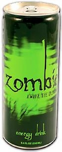Energy Drink Zombie Awake The Dead