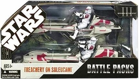 Star Wars 30th Anniversary Saga 2007 Exclusive Action Figure Battle Pack Treachery on Saleucami