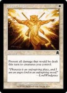 Magic the Gathering Apocalypse Single Card Common #8 Divine Light