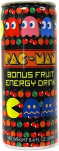 Energy Drink Pac-Man Bonus Fruit
