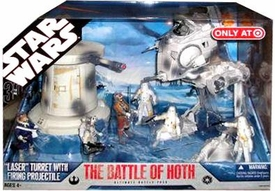 Star Wars 30th Anniversary Saga 2007 Exclusive Action Figure Mega-Pack The Battle of Hoth