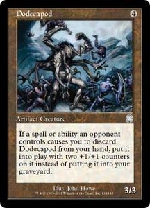 Magic the Gathering Apocalypse Single Card Uncommon #134 Dodecapod Foil!