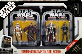 Star Wars 30th Anniversary Saga 2007 Exclusive Collectible Tin Episode III [Commander Cody, Anakin Skywalker, General Grievous, Clone Pilot]