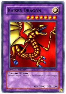 YuGiOh McDonald's Limited Edition 2 Promo Card MDP2-EN011 Kaiser Dragon