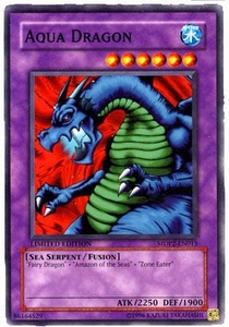YuGiOh McDonald's Limited Edition 2 Promo Card MDP2-EN013 Aqua Dragon