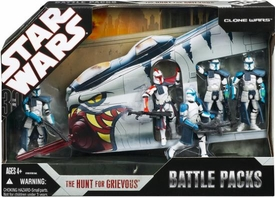 Star Wars 30th Anniversary Saga 2007 Exclusive Action Figure Battle Pack Hunt For Grievous [Clone Wars]