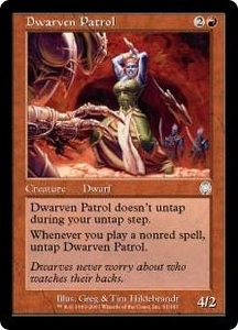 Magic the Gathering Apocalypse Single Card Uncommon #61 Dwarven Patrol