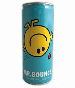 Energy Drink Mr. Bounce Off the Wall Punch