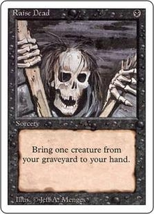 Magic the Gathering Revised Edition Single Card Common Raise Dead