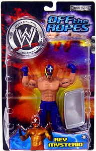 WWE Jakks Pacific Wrestling Action Figure Off The Ropes Series 3 Rey Mysterio