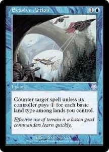 Magic the Gathering Apocalypse Single Card Uncommon #23 Evasive Action