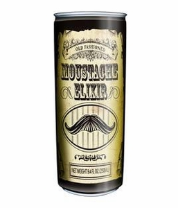 Energy Drink Moustache Elixir