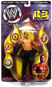WWE Wrestling Action Figure R3 Tech Chris Benoit