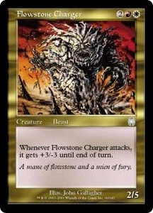 Magic the Gathering Apocalypse Single Card Uncommon #99 Flowstone Charger