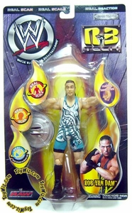 WWE Wrestling Action Figure R3 Tech Real Reaction Series 5 RVD Rob Van Dam