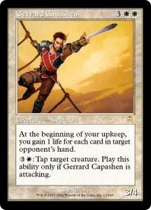 Magic the Gathering Apocalypse Single Card Rare #11 Gerrard Capashen