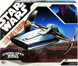 Star Wars 30th Anniversary Saga 2007 Vehicle Sith Infiltrator