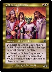 Magic the Gathering Apocalypse Single Card Common #103 Goblin Legionnaire