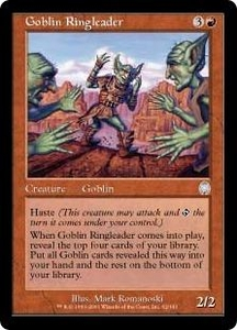 Magic the Gathering Apocalypse Single Card Uncommon #62 Goblin Ringleader
