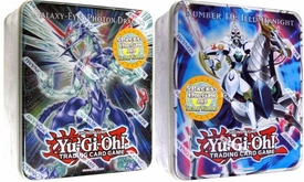 YuGiOh ZEXAL 2011 Set of Both Wave 2 Collector Tins [Illumiknight & Galaxy-Eyes Photon]